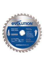 Evolution Power Tools Steel Line ZAAGBLAD IJZER 180 MM
