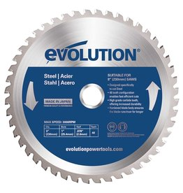 Evolution Power Tools Steel Line Lame Acier 230 mm