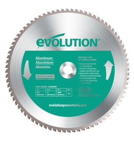 Evolution Power Tools Steel Line Saw blade Aluminum 355 mm - CS