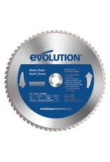 Evolution Power Tools Steel Line ZAAGBLAD IJZER 355 MM