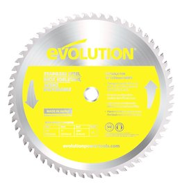 Evolution Power Tools Steel Line Saw blade Inox 355 mm - CS