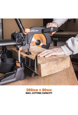 Evolution Power Tools Build Line MULTIFUNCTIONAL MITRE SAW RAGE R255 SMS+