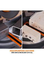 Evolution Power Tools Build Line MULTI-MATERIAL COMPOUND GEHRUNGSSÄGE RAGE R210 CMS+
