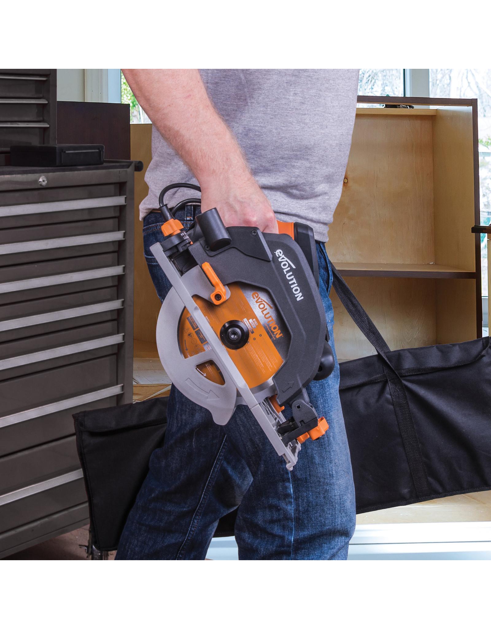 Evolution Power Tools Build Line MULTIFUNCTIONAL CIRCULAR SAW RAGE R185 CCSX+
