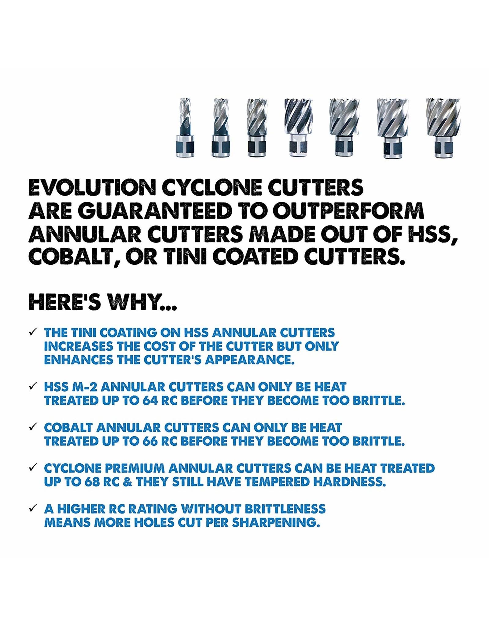 Evolution Power Tools Steel Line EVOLUTION SET CORE CUTTERS SHORT - 3 PIECES
