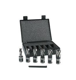 Evolution Power Tools Steel Line Set Kernfrezen Kort - 6 stuks