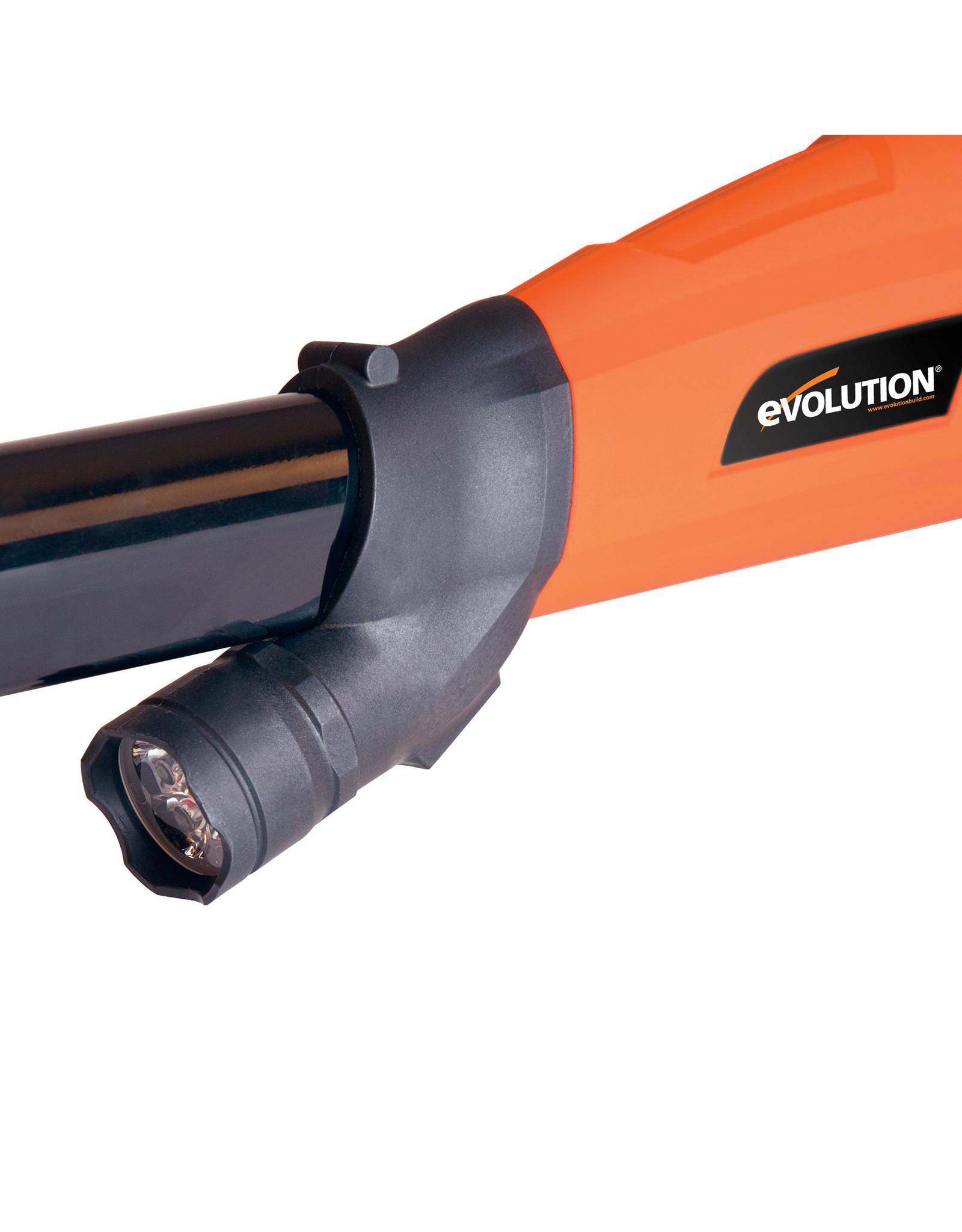 Evolution Power Tools Build Line TELESCOPISCHE PLEISTER SCHUURMACHINE EB225 DWS