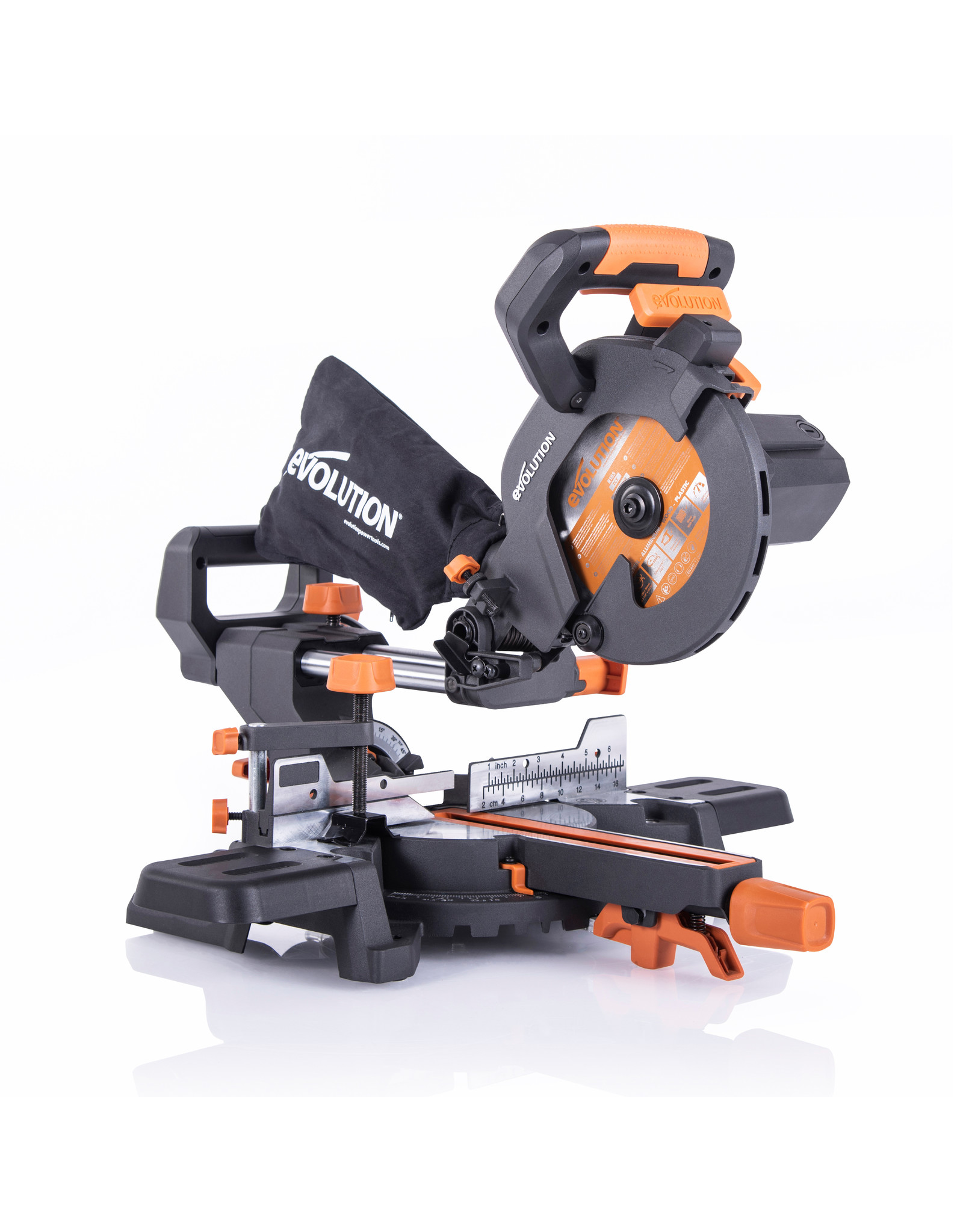 Evolution Power Tools Build Line MULTIFUNCTIONAL MITRE SAW RAGE - R185SMS+