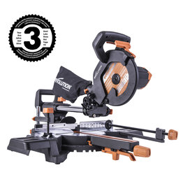 Evolution Power Tools Build Line MEHRZWECK-GLEIT GEHRUNGSSÄGE RAGE - R210 SMS-300+