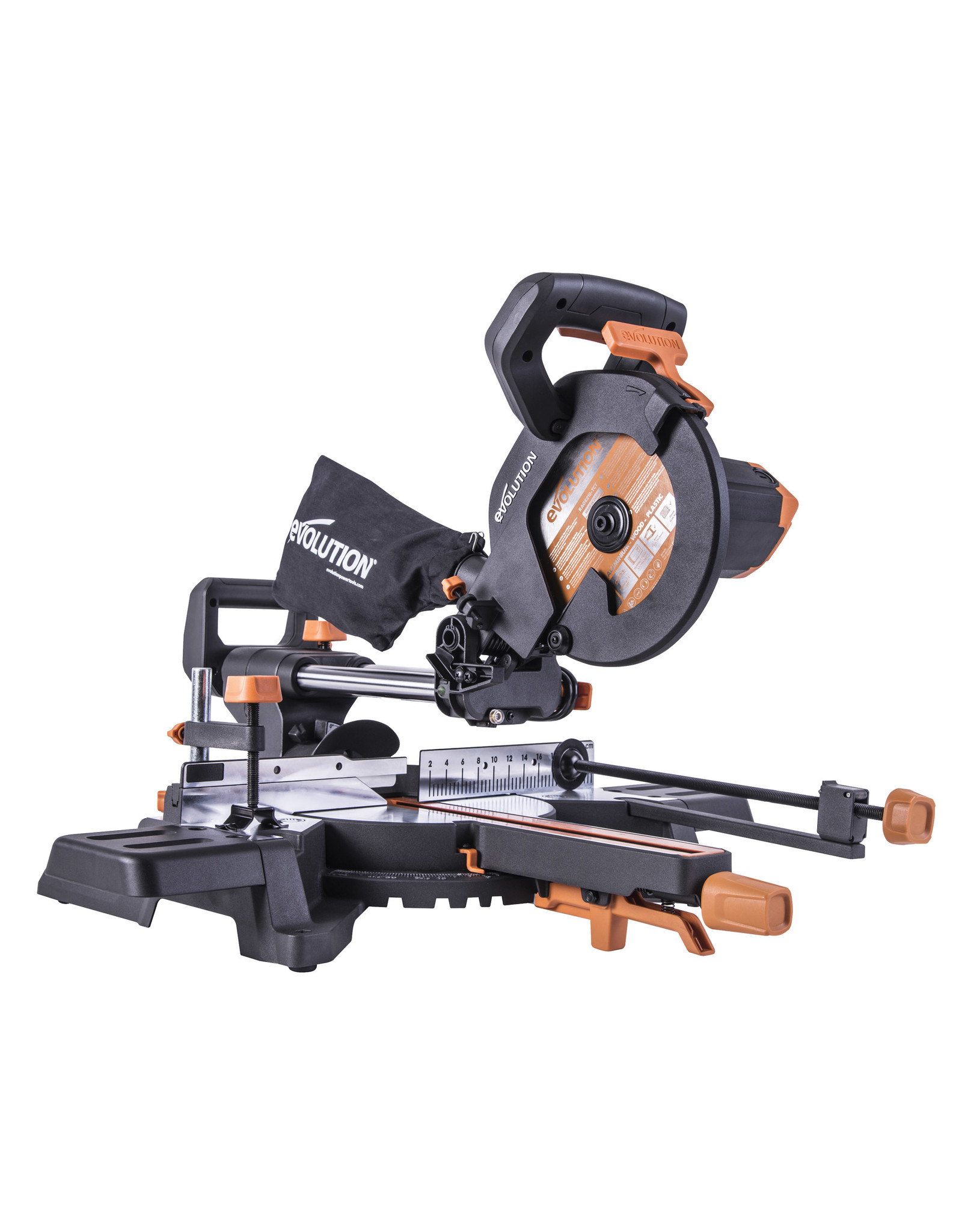 Evolution Power Tools Build Line SCIE A ONGLET RAGE R210SMS-300+