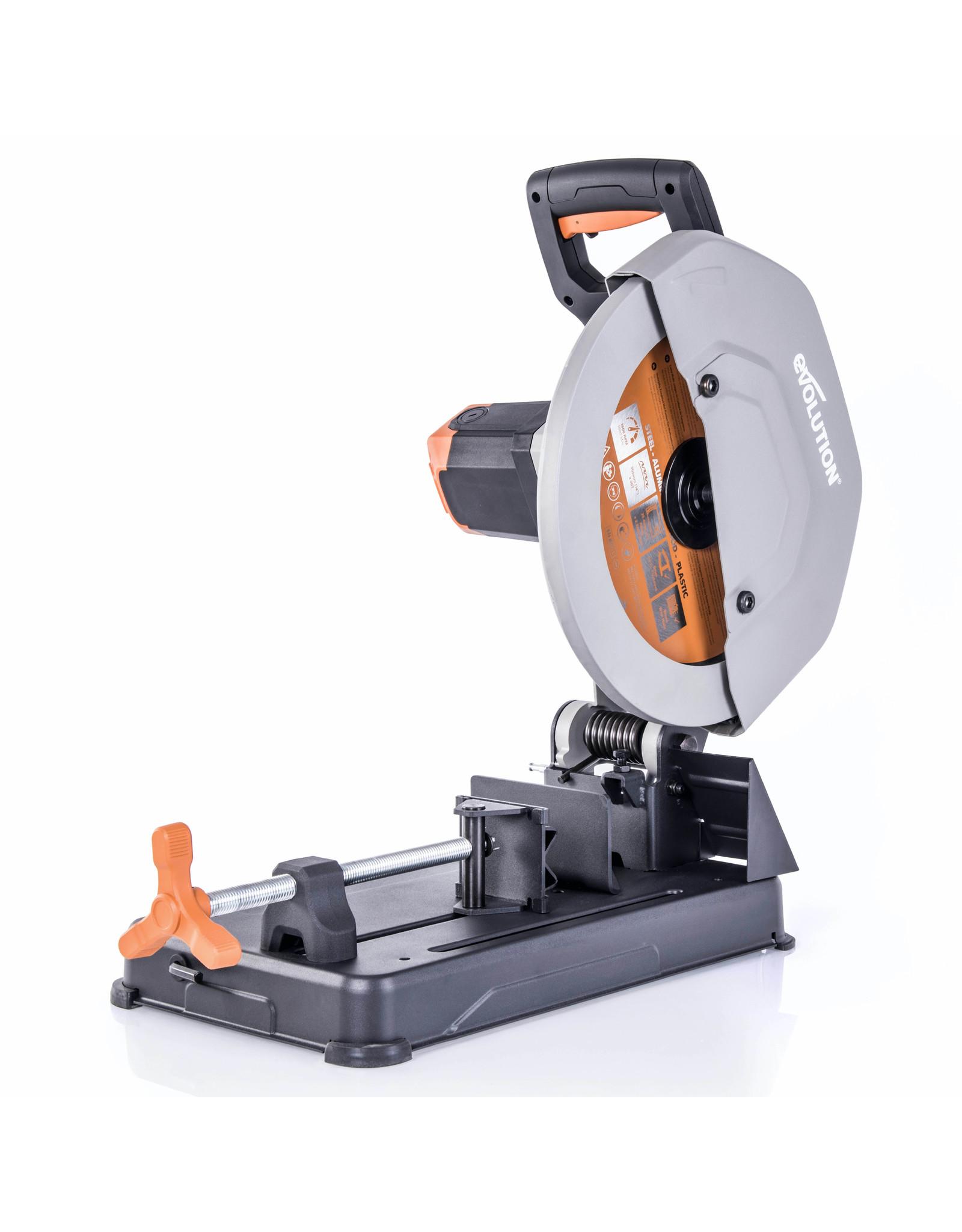 Evolution Power Tools Build Line AFKORTZAAG RAGE R355CPS