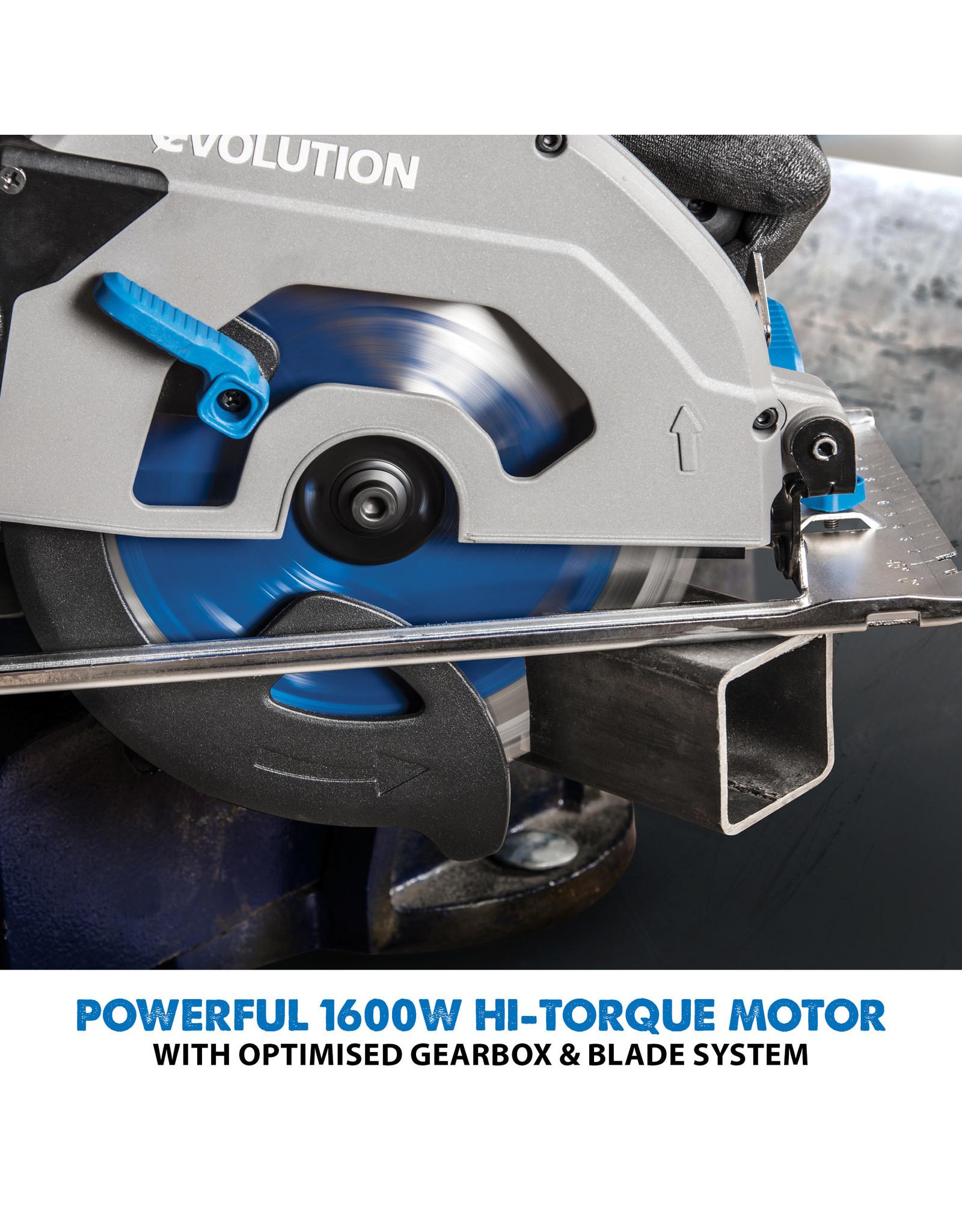 Evolution Power Tools Steel Line METALLSCHNEIDKREISÄGE S185CCSL