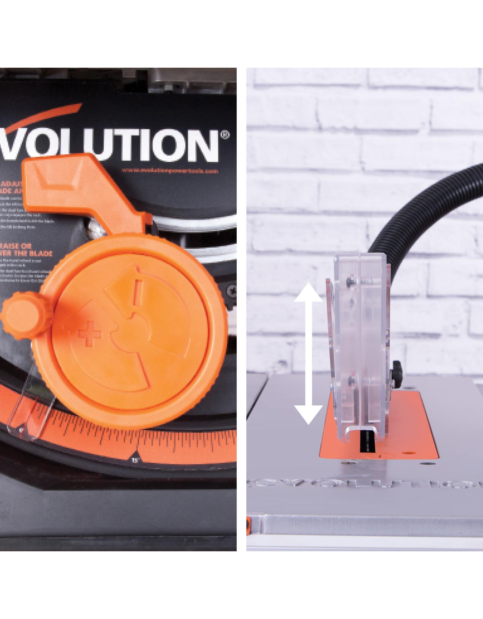 Evolution Power Tools Build Line MULTI-MATERIAL TISCHSÄGE RAGE 5-S +  1 GRATIS SÄGEBLATT