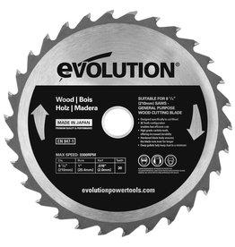 Evolution Power Tools Build Line Saw blade Wood 210 mm - CS