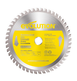 Evolution Power Tools Steel Line Saw blade Inox 185 mm - CS