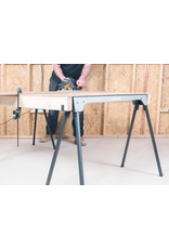Evolution Power Tools Build Line   SUPPORT DE SCIE AVEC JAMBES PLIABLES - SAW HORSE