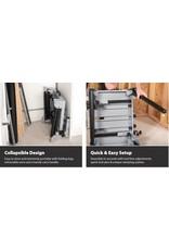 Evolution Power Tools Build Line DOORSLIJPMACHINE S355CPS + UNIVERSELE AFKORTZAAG STAND  - CHOPSTAND