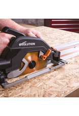 Evolution Power Tools Build Line SCIE CIRCULAIRE MULTIFONCTIONELLE RAGE R185 CCSX+ + LAME MULTIFONCTIONNELLE RAGE 185 MM