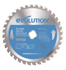 Evolution Power Tools Steel Line Lam de scie acier fin 180 mm - MS