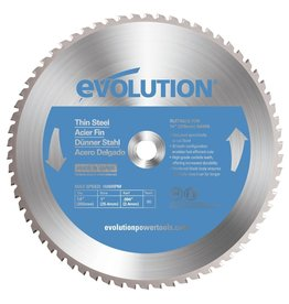 Evolution Power Tools Steel Line Saw blade thin steel 355 mm - MS