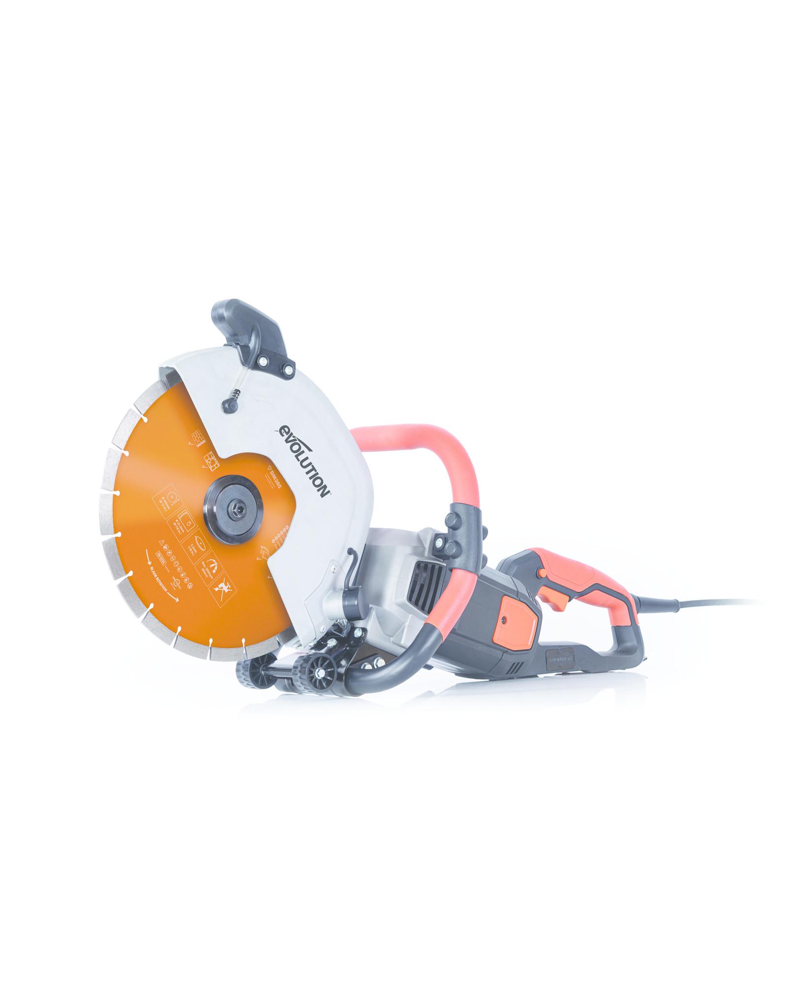 Evolution Power Tools Build Line TRONCONNEUSE ELECTRIQUE R300DCT+