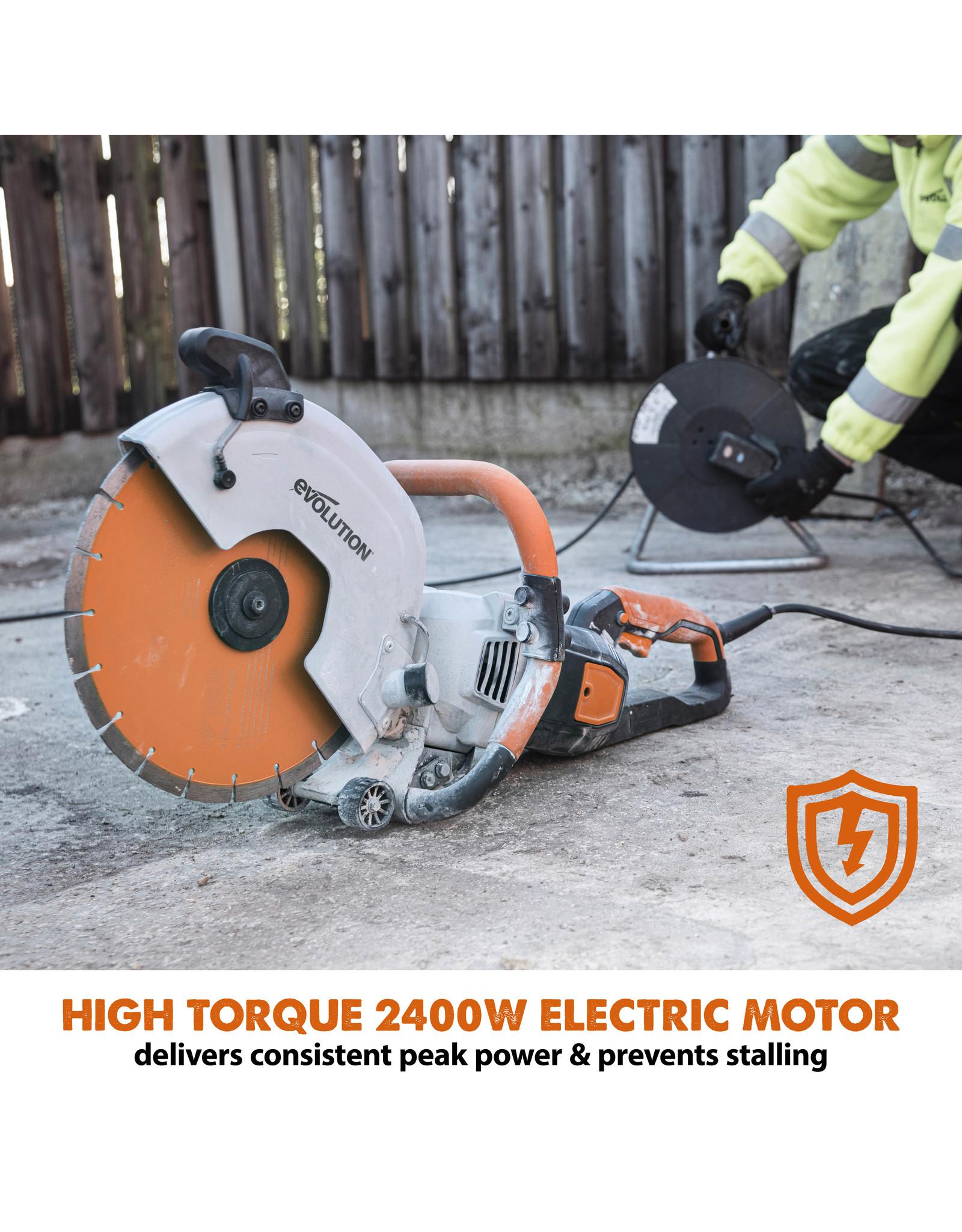 Evolution Power Tools Build Line  ELECTRIC GRINDER R300DCT+