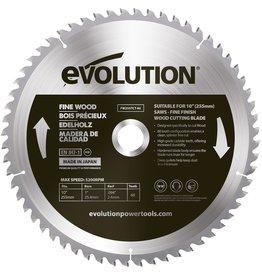 Evolution Power Tools Build Line Feines Holz klinge 255 mm