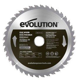 Evolution Power Tools Build Line Zaagblad Fijn hout 210 mm