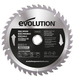 Evolution Power Tools Build Line Saw blade Fine Wood 185 mm