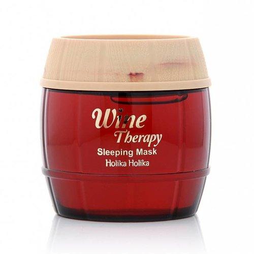 Holika Holika Red Wine Therapy Sleeping Mask