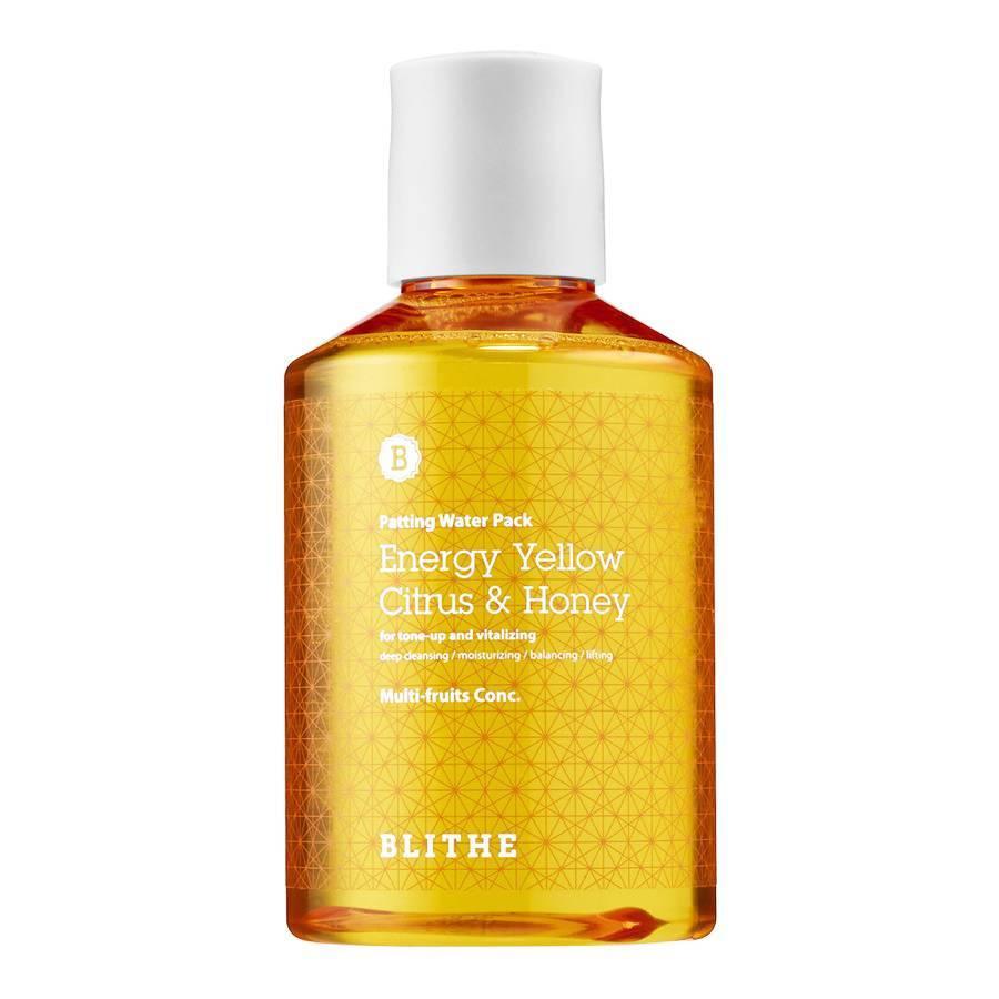Blithe   Patting Splash Mask Yellow Citrus & Honey 20ml
