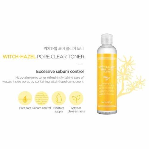 Secret Key Witch Hazel Pore Clear Toner