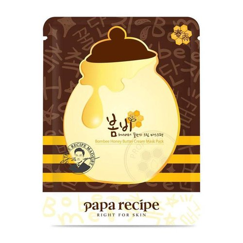 Papa Recipe Bombee Honey Butter Cream Mask