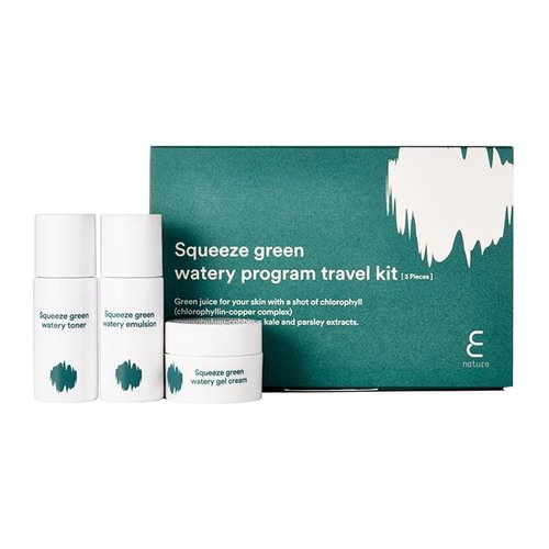 E Nature Squeeze Green Watery Program Travel Kit