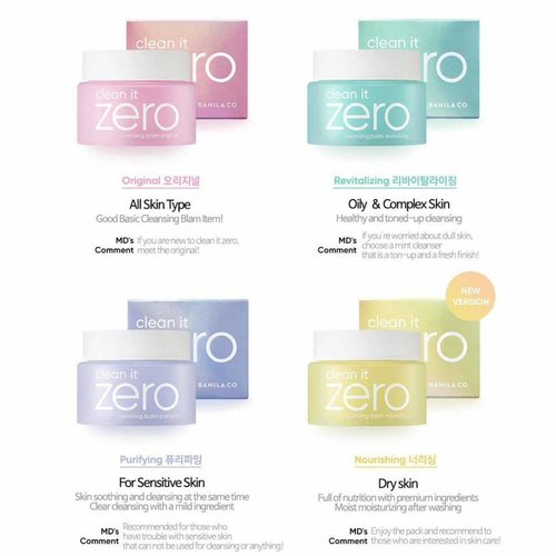 Banila Co Clean it Zero Special Kit 4*7ml