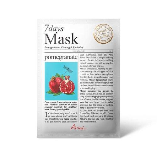 Ariul Pomegranate 7 Days Mask
