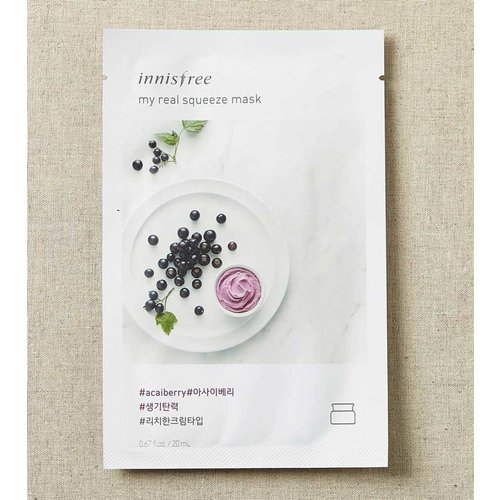 Innisfree My Real Squeeze Acai Berry Mask