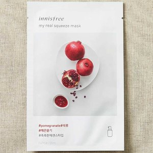 Innisfree My Real Squeeze Pomegranate Mask