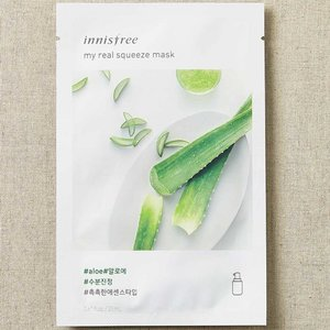 Innisfree My Real Squeeze Aloe Mask