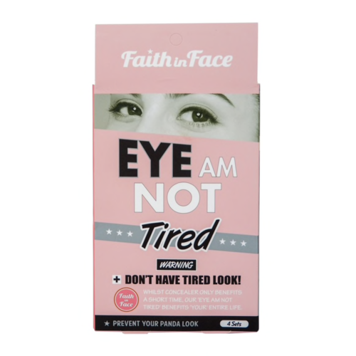 Faith In Face Eye Am Not Tired Eye Patch