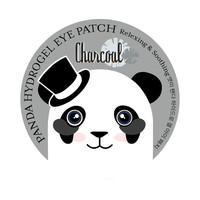 Panda Hydrogel Eye Patch (Charcoal)