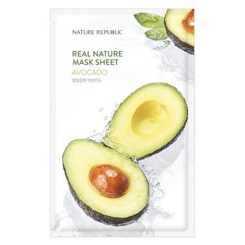 Nature Republic Real Nature Avocado Sheet Mask