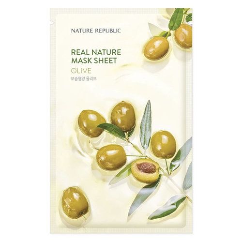 Nature Republic Real Nature Olive Sheet Mask