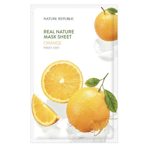 Nature Republic Real Nature Orange Sheet Mask