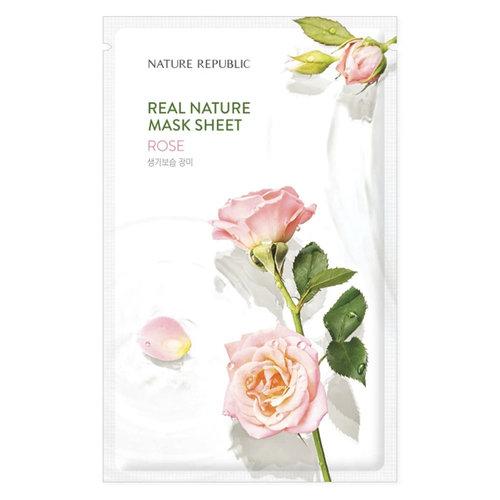 Nature Republic Real Nature Rose Sheet Mask