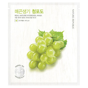 Nature Republic Real Nature Green Grape Hydrogel Mask