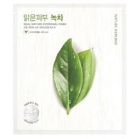 Real Nature Green Tea Hydrogel Mask