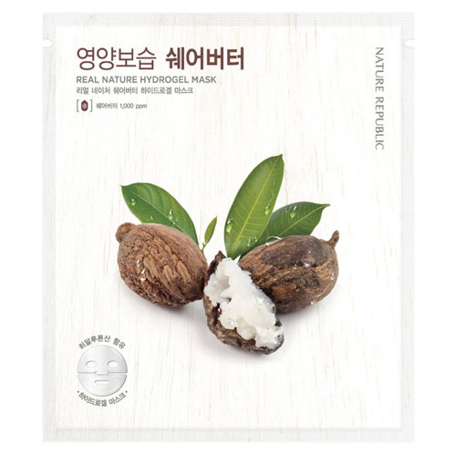 Nature Republic Real Nature Shea Butter Hydrogel Mask