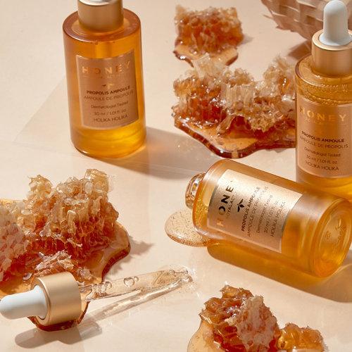 Holika Holika Honey Royalactin Propolis Ampoule Cream Set