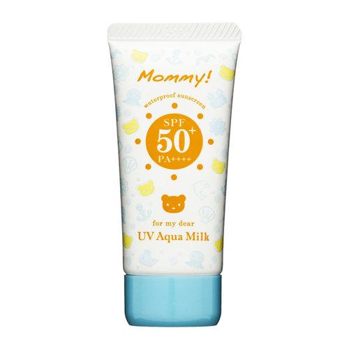 Isehan Kiss Me Mommy UV Aqua Milk SPF 50+ PA++++